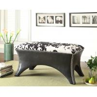 Wholesale Patterned Upholstered Bench Living Room With Multiple Fabric Selections from china suppliers