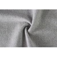 Wholesale Lady' S Fashion Coat Wool Interlock Fabric , Stretch Double Wool Crepe Fabric from china suppliers
