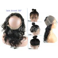 Wholesale 360 Lace Frontal Lace Top Closure Virgin Hair Body Wave Natural Hairline from china suppliers