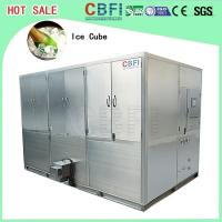 Wholesale Auto Operation Ice Cube Machine , Industrial Ice Maker 10,000 Kg Daily Capacity from china suppliers