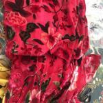 Wholesale Hot Sale Burnout Silk Velvet Fabric/Burnout Fabric/Silk Velvet Fabric from china suppliers