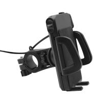 Wholesale Universal Adjustable Bicycle Handlebar Mount Charge Holder for Mobile Cell Phone from china suppliers