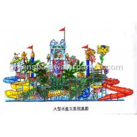 Wholesale Kids Water Park Equipment / Water Park Games For Swimming Pool Water Park from china suppliers