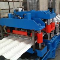 Buy cheap GI / PPGI Wall Panel Roll Forming Machine , RF-ST Roofing Sheet Making Machine from wholesalers