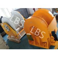 Wholesale Small Size Tower Crane Winch / Winch Drum with Lebus Groove or Spiral Groove from china suppliers