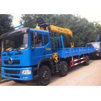 Wholesale Telescopic Boom Truck Mounted Crane Dongfeng 6x2 12MT 12 Ton Crane Truck from china suppliers
