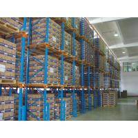 Wholesale High Space Saving Heavy Duty Pallet Rack , Blue / Orange Drive In Pallet Racking System from china suppliers