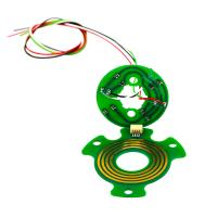 Wholesale 4 Circuits Pancake Separate Slip Ring Precious Metal Contact For Robots from china suppliers
