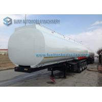 Wholesale Heavy Duty Elliptical 4 Axle Oil Tank Trailer Container Semi Trailer from china suppliers