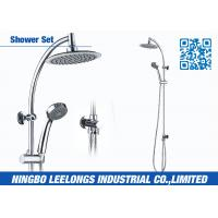 Wholesale Stainless Steel Shower Columns Panels  With 8 Inch Round Overhead Shower from china suppliers