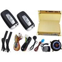 Wholesale Keyless Entry Car Engine Start Stop System Ignition Start Stop Button Alarm Protection from china suppliers
