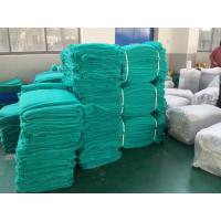 Quality Scaffolding Mesh Construction Safety Nets , HDPE Debris Safety Netting Green Colours for sale