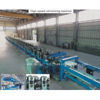 Quality 22 Stations Blue Metal Deck Forming Machine 27.5KW , Automatic Forming Machine for sale
