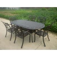 Wholesale Outdoor Table and Chair/Metal Garden Chairs Wrought Iron Garden / Backyard Bench from china suppliers