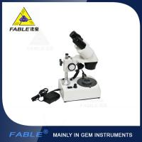 Wholesale Generation 2nd Straight arm type Gem Microscope With F19 or F17 binocular lens from china suppliers