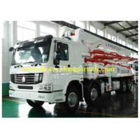 Wholesale 120m3 Output Truck Mounted Concrete Pump Automatic Control 48m Boom with warranty from china suppliers