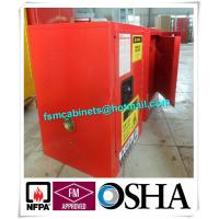 Wholesale Flammable Hazmat Storage Locker , Chemical Storage Cupboards Waterproof from china suppliers