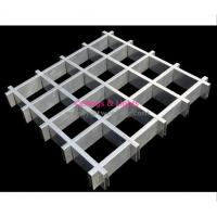 Wholesale Stable Attractive Ceiling Panel Grid 100x100mm For Restaurant Interior Decoration from china suppliers