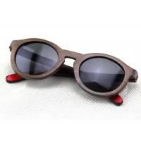 Wholesale Handmade Custom Sun Glasses , Wood  Framed Sunglasses Bamboo Eyewear Fashion from china suppliers