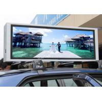 Wholesale 5 Mm Pixel Pitch Led Car Message Sign , Car Led Display Screen 18kgs from china suppliers