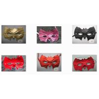 Wholesale Masquerade Bat Half Face Mask For Women Dance Party Halloween Party from china suppliers