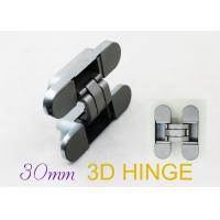 Wholesale 180 Degree Hinges Three Way Concealed Adjustable Door Hinges For Interior Flush Doors from china suppliers