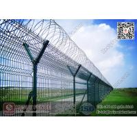 Wholesale 2.8m high Airport Security Welded Mesh Fence | China Wire Mesh Fence Supplier from china suppliers