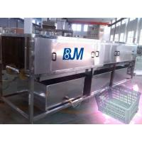 Wholesale Industry Full Automatic Turnover Crate Washer With Mitsubishi PLC from china suppliers