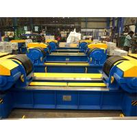 Buy cheap Manual Bolt Adjustment 80 Ton Vessel Turning Rollers Pipe Stands For Tank Welding Fabrication from wholesalers