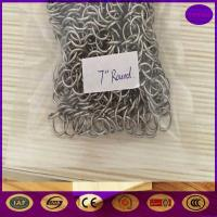 Wholesale China Practical Skillet Cleaner Stainless Steel Chainmail Scrubber from china suppliers