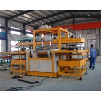 Wholesale Automatic vacuum forming type Robot arm PS foam takeaway lunch box forming machine from china suppliers