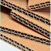 Wholesale Virgin Wood Pulp Corrugated Cardboard Sheet High Performance Brown Color from china suppliers