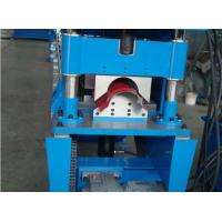 Wholesale 20 Roller Stations Roof Ridge Cap Roll Forming Machine Forming Speed 15m Per Minute from china suppliers