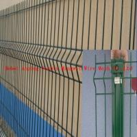 Wholesale Hebei Anping county bending triangular weld wire mesh fence from china suppliers