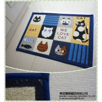 Wholesale Home decoration Anti-slip Decorative Door Mats , anti fatigue floor mats from china suppliers