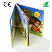 Quality 37mm Round Sound Module For Baby Sound Books , Educational Board Book baby for sale