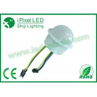 Wholesale Waterproof Connector 35mm Rgb Led Pixels Full Color DC24V programmable dot light from china suppliers