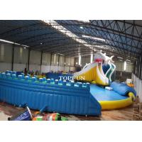 Wholesale Commercial Exciting Blue Inflatable Swimming Pools For Water Park from china suppliers