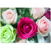Wholesale Silk Simulation Artificial Flower Stems Sponge Paper Flowers Rod  with White from china suppliers