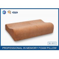 Wholesale Natural Silent Night Memory Foam Contour Pillow Soft Bamboo Cover For Home Bedding from china suppliers