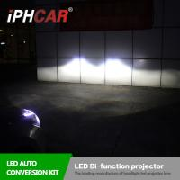 Iphcar High Quality Factory Wholesale Price 3.0 Inch Led Bi-xenon Projector Lens For H4 Car Kit