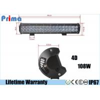 Wholesale 4D Lens Off Road 18 Inch Cree LED Car Light Bar DC 9V- 32V Cool White 6000K from china suppliers