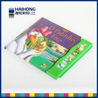 Wholesale Hard cardboard paper photo kids music books print and binding services from china suppliers