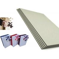 Stone / grade B foldable Grey Paper Board for puzzle package boxes