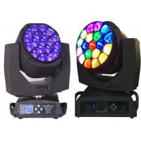 Wholesale 15w LED Moving Head Light  19 X 12w / 15w 4-In-One Led Bee Eye Led Moving Heads from china suppliers