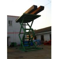 Wholesale 18m Proffesional stationary scissor lift  platforms 660kg ~ 1600kg from china suppliers