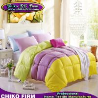 Wholesale Solid Colors Micforiter Pure Polyester Queen Bed Comforters on Sale from china suppliers