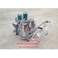 Wholesale Automatic Milking Piston Cow Mobile Milking Machine For Two Cows Milking from china suppliers