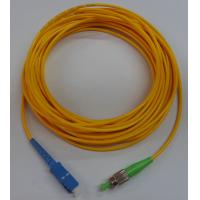 Wholesale G652D High precision of ceramic ferrule, FC - SC Fiber Optic Patch Cord from china suppliers