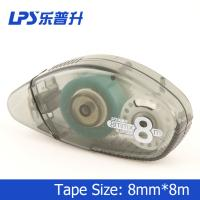 Wholesale School Student Double Side Adhesive Glue Tape Roller Permanent 8mm X 8m from china suppliers